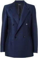 Joseph double-breasted jacket - women - Cotton/Viscose/Virgin Wool - 38