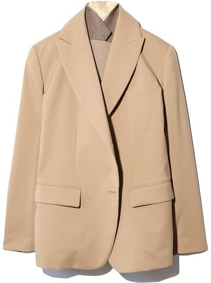 Sacai Suiting Tailored Jacket in Beige