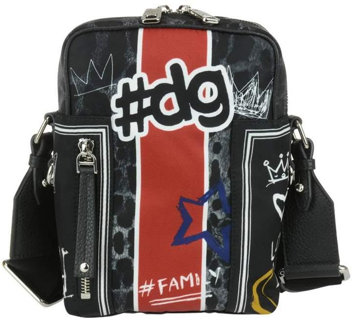 Dolce & Gabbana #dg Graffiti Shoulder Bag