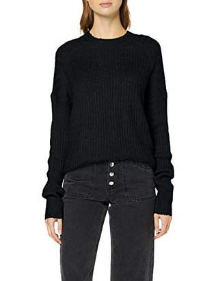 Melange Home Q/S designed by Women's 41.909.61.2673 Jumper, (Grey 9400), (Size: Small)