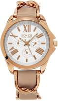 S.O.S. SO&CO NY Women's Multifunction Watch