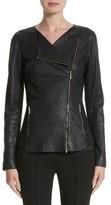 Lafayette 148 New York Women's Aimes Leather Jacket