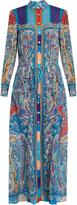 Etro Paisley-print silk dress
