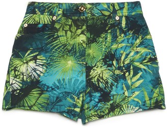 Versace Jungle Print Shorts