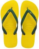 Havaianas Brasil Men US 12 Green Flip Flop Sandal