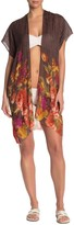 Pool' Pool To Party Wool Bloom Kimono Cover-Up