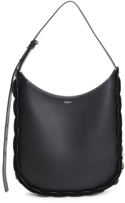 Chloé Medium Darryl Leather Hobo Bag