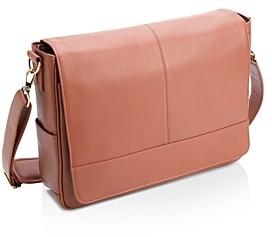 ROYCE New York Leather 15 Laptop Messenger Bag