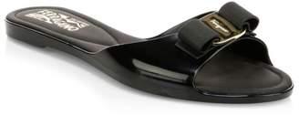 Salvatore Ferragamo Cirella Flat Jelly Sandals