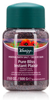 Kneipp Pure Bliss Mineral Bath Salt - Red Poppy Hemp