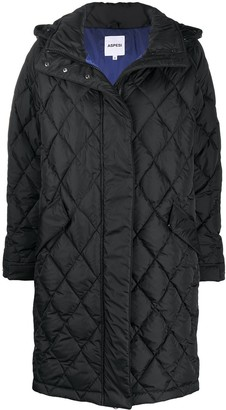 Aspesi Quilted Hooded Coat