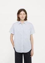 La Garçonne x Save Khaki Oversized Short Sleeve Shirt