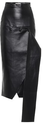 MATÉRIEL High-rise faux-leather skirt