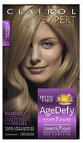 Clairol Age Defy Expert Collection, 8 Medium Blonde, Permanent Hair Color, 1 Kit