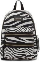Marc Jacobs Black & Off-White Zebra Biker Backpack