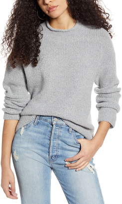 Cotton Emporium Ribbed Roll Neck Sweater