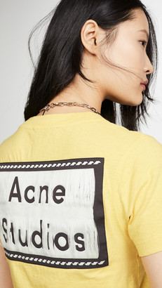 Acne Studios Ebally Reverse Label Tee