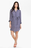 Sandra Ingrish Split Neck Shirtdress