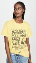 R 13 Why Rock Destroys Your Mind Boy Tee