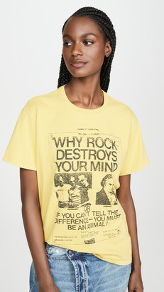 R 13 Why Rock Destroys Your Mind Boy Tee