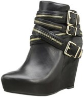 BCBGeneration Women's Anders Platform Wedge Ankle Boots.