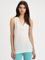 James Perse Colwneck Tank Top