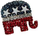 Stars & Stripes Products Crystal Republican Logo Pin/Brooch