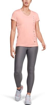 Under Armour Women's UA Velocity Graphic V-Neck Short Sleeve