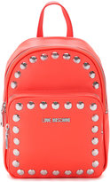 Love Moschino studded backpack - women - polyurethane - One Size