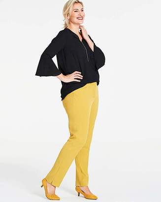 Capsule Ochre Everyday Kate Slim Leg Trousers