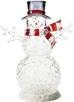 Asstd National Brand Icy Snowman Figurine with LED Light