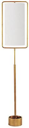 REGINA ANDREW Geo Rectangle Floor Lamp - Gold