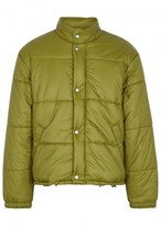 Our Legacy Bubble Green Quilted Shell Jacket