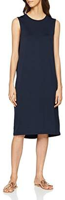 Selected Women's 16062042 Bodycon Crew Neck Sleeveless Dress - Blue