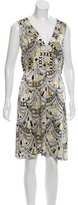 Emilio Pucci Silk Abstract Dress