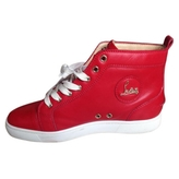 Christian Louboutin Leather high trainers