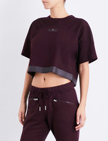 adidas by Stella McCartney Essentials jersey cropped top