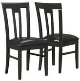Monarch 39 Inch Slat Back Dining Chairs