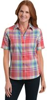 Dickies Women's Plaid Twill Shirt