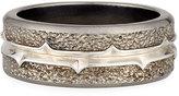 Stephen Webster Men's Highwayman Silver Band Ring, Size 10.75