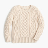 J.Crew Kids' cable sweater