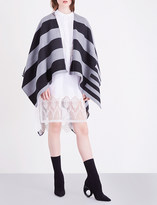 Burberry Charlotte reversible wool cape