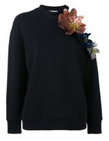 Christopher Kane cut out flower sweatshirt