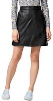 Warehouse Faux Leather Core Pelmet Skirt