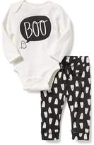 Old Navy 2-Piece Halloween-Graphic Bodysuit & Leggings Set for Baby