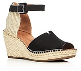 Gentle Souls Charli Ankle Strap Platform Wedge Sandals