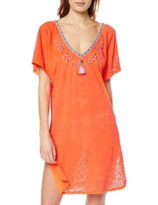 Sportalm Kitzbühel Women's Rush Dress, (Funky Orange 065), (Size: 46)