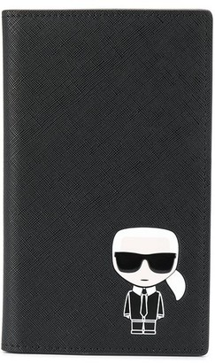 Karl Lagerfeld Paris Ikonik travel wallet
