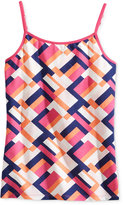 Epic Threads Geo-Print Shelf Camisole, Big Girls (7-16), Only at Macy's
