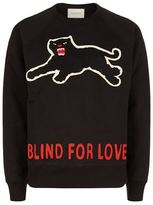 Gucci Panther Slogan Sweater